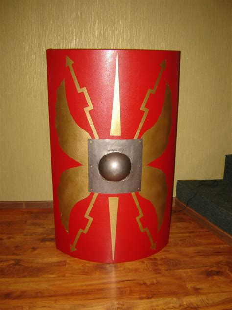 How To Make A Paper Shield Easy - a shield scutum