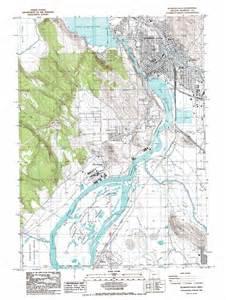 map klamath falls oregon klamath falls topographic map or usgs topo 42121b7