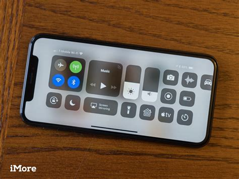 how to enable center when your iphone x is horizontal imore