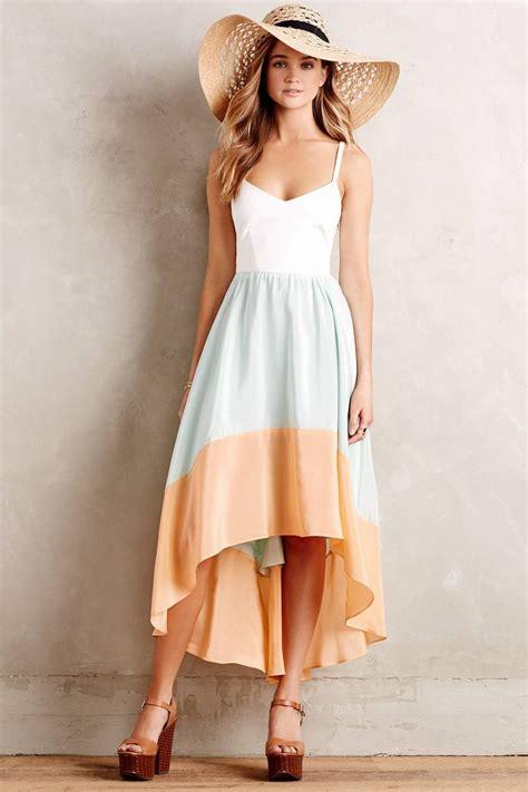 Anthropologie Summer Dress colorblocked sama dress anthropologie honeymoon