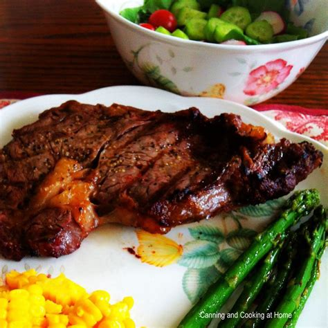 the best grilled steak canning and cooking at home