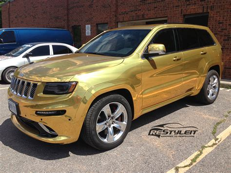 jeep gold gold chrome jeep grand cherokee srt8 vehicle