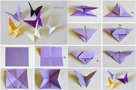 tutorial origami 3d mariposa 45 diy easy origami for kids with tutorials
