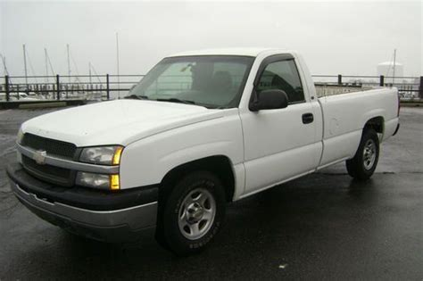 how to work on cars 2004 chevrolet silverado 1500 electronic valve timing purchase used 2004 chevy chevrolet silverado 1500 2wd v6 auto great work truck no reserve in