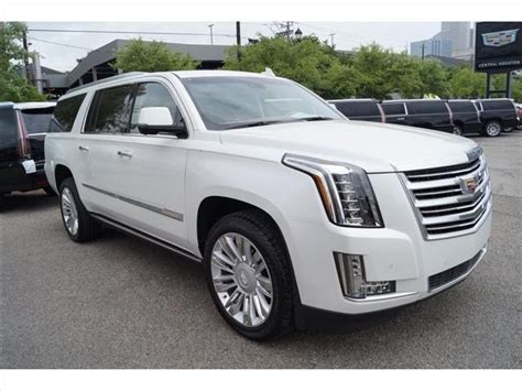 cadillac escalade 2017 pearl white 2017 2018 cadillac escalade esv for sale in greenville