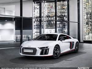special edition of the audi r8 coup 233 v10 plus selection