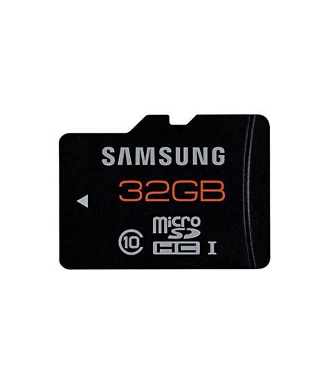 Memory Card Microsd 32gb Jogja samsung 32 gb microsd plus class 10 memory card memory