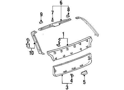 lexus rx300 parts diagram 2000 lexus rx300 parts mileoneparts