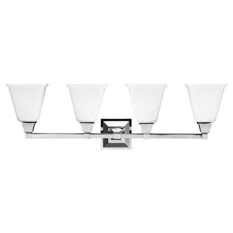4 light bathroom vanity fixture sea gull lighting denhelm chrome four light bathroom