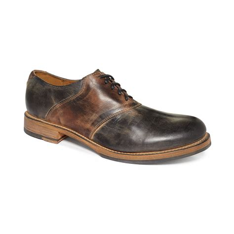 bed stu men s shoes bed stu edison oxfords in brown for men black teak rustic