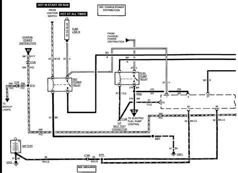 1989 ford ranger fuel pump wiring diagram wiring diagrams