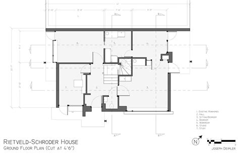 schroder house floor plan wonderful house plan dimensions contemporary best