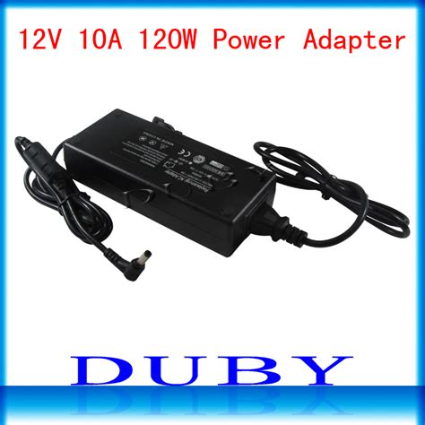 Power Supply Adaptor 12v 10a Oska new universial ac for dc 12v 10a 120w power supply charger