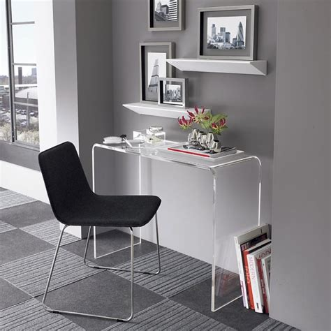 Clear Office Desk Design Ideas For The Small Home Office