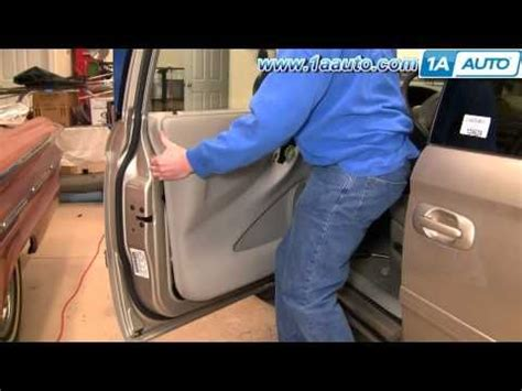 How To Remove The Interior Door Panel For A Car by 1a Auto Shows You How To Remove Or Replace The Interior