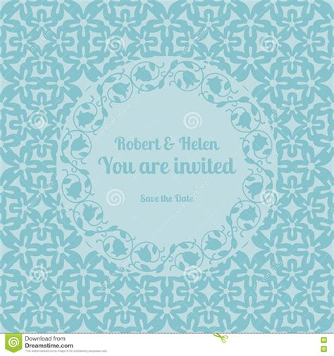 You Are Invited Card Template by You Are Invited Wedding Card Template Stock Vector Image