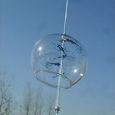 Handmade Glass Wind Chimes - japanese wind bell wind chimes handmade glass furin