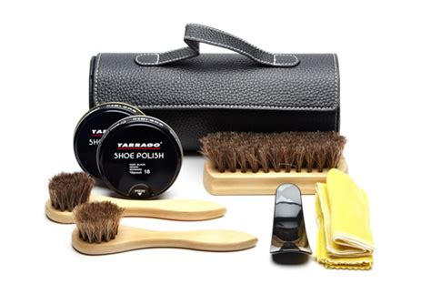 Dress Shoe Cleaning Kit by Tarrago Shoe Shine Kit Mensfash