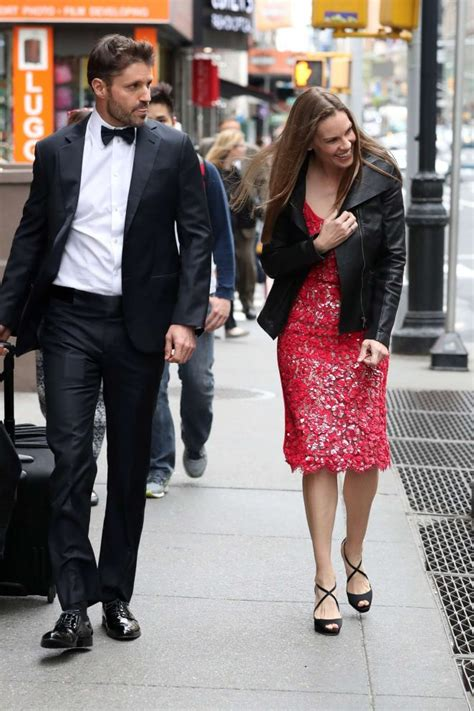 In Emmy Rossum And Hilary Duff by Hilary Swank At Emmy Rossum S Wedding In New York City