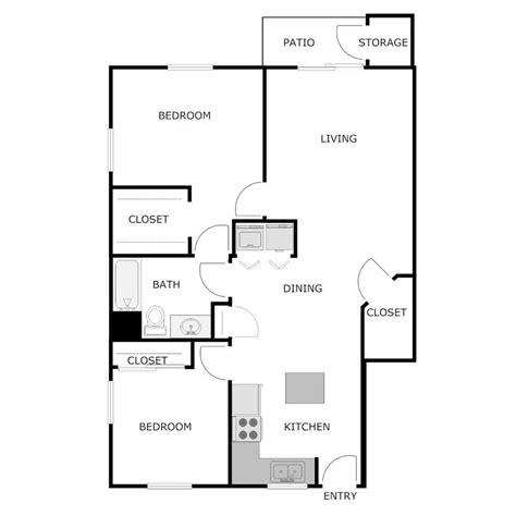 1050 square feet is how many square meters 2 bedroom 1 bath apartment dublin trail apartments