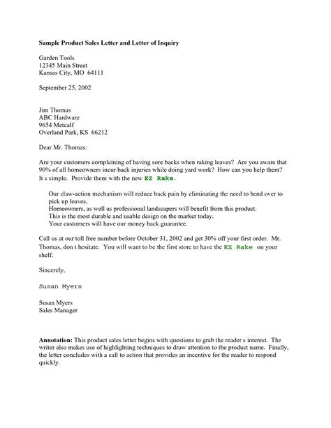 Product Evaluation Letter Sles Product Template Category Page 1 Sawyoo