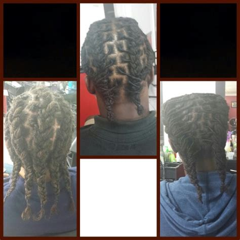 short loc braid styles dreads braided back braids and dreads pinterest