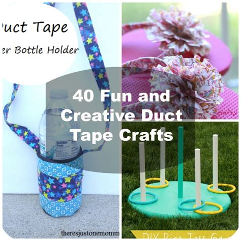 duct craft ideas for 40 easy diy duct crafts