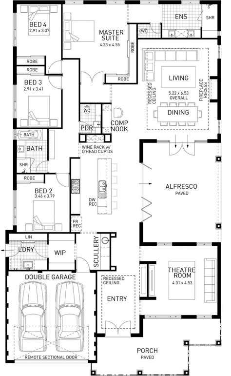Australian House Designs And Floor Plans by Hamptons Style House Plans Australia House Of Samples
