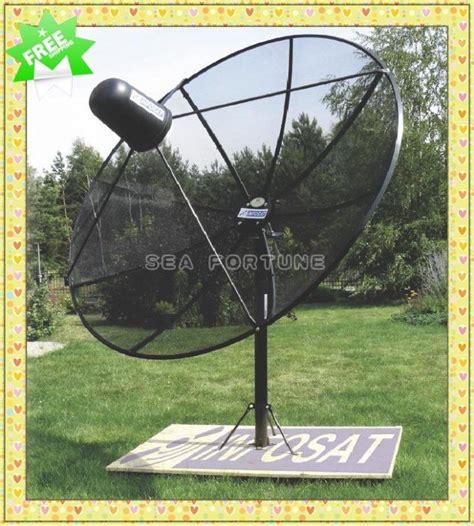 backyard satellite dish c band 180cm 5 9ft polar mount mesh satellite dish prime