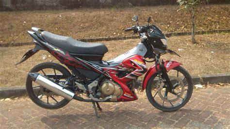 Handgrip Ori Satria Fu suzuki satria fu 2012 mulus terawat bgr cibinong depok dan sekitarnya jual motor suzuki