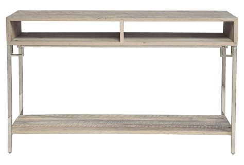 rowan shelving rowan 50 quot storage console driftwood products and one