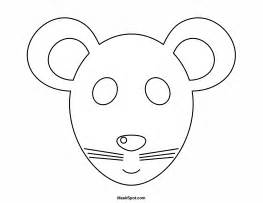 Mouse Mask Template Printable by Best Photos Of Mouse Mask Template Printable Mouse Mask