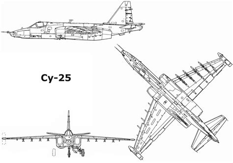 free blueprint sukhoi su 25 blueprint download free blueprint for 3d
