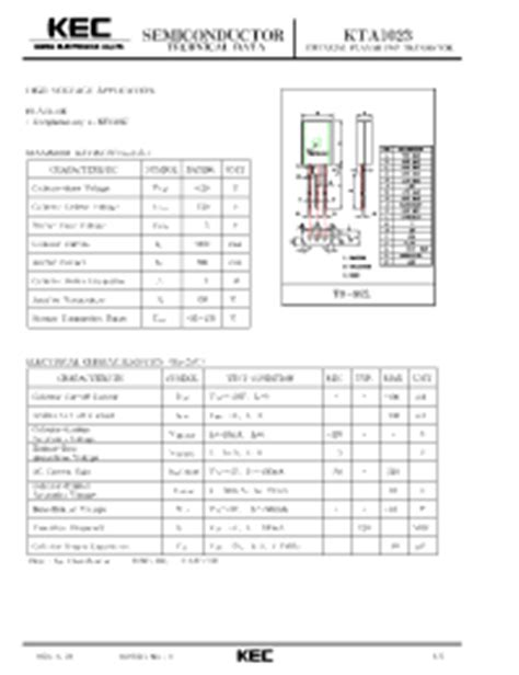 a1013y transistor datasheet a1023 transistor pdf 14 images board c98043 a1206 l17 03 siemens trafo c98130 a1023 c109 02