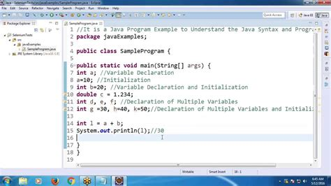 youtube tutorial java programming java tutorial 4 java programming exle youtube