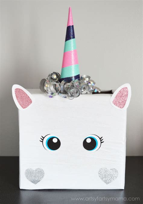 valentines card boxes unicorn card box unicorn unicorns