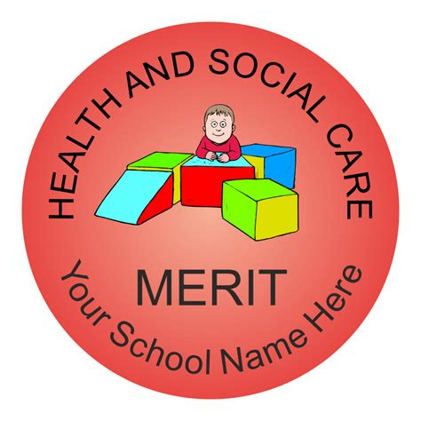 Classic Home Health by Health And Social Care Multi Reward Stickers