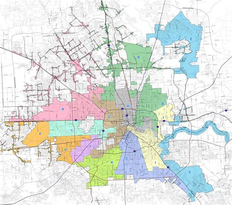 houston district j map the results are in houstonians like their and ems