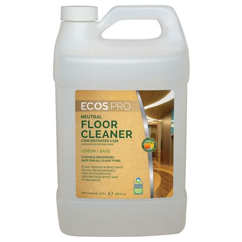 Floor Care Products by Earth Friendly Products Ecos Pro Neutral Floor Cleaner