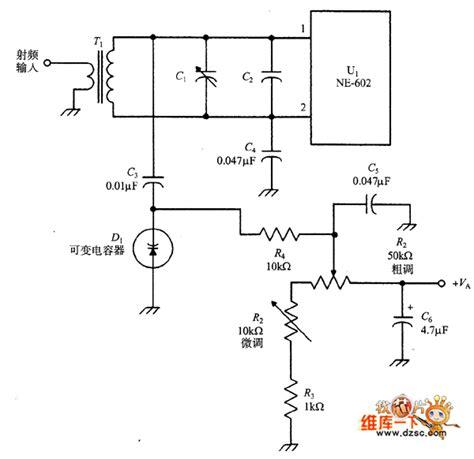varactor diode in tuning circuits ne 602 varactor tuning input circuit 555 circuit circuit diagram seekic