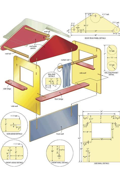 kids puppet theater woodworking plans  woodworking