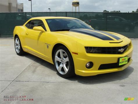 yellow for sale 2010 chevrolet camaro ss coupe transformers special