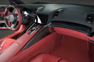 2015 Acura Nsx Interior We Hear Honda Mclaren Could Collaborate On Road Cars