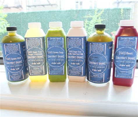 Detox Juice Cleanse On The Go by Reasons To Go On A Cleanse My Gingersnap S Organic 7 Day