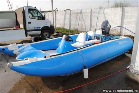 catamaran de vanzare barca gonflabila cu motor barcisecond vanzari