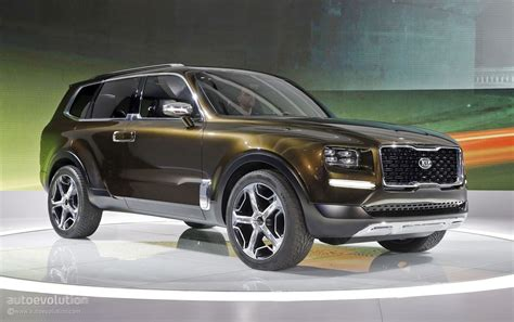 Kia New Suv 2019 by 2019 Kia Telluride Suv Spied For The Time Looks