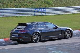 Porsche Sport 2018 Porsche Panamera Sport Turismo Wagon Spotted With