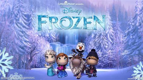 imagenes para fondo de pantalla frozen personajes de frozen en littlebigplanet fondo de