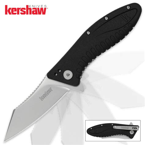 knife assisted opening kershaw grinder assisted opening pocket knife budk