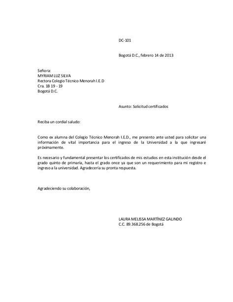 Carta De Empleo Estilo Bloque estilos de cartas